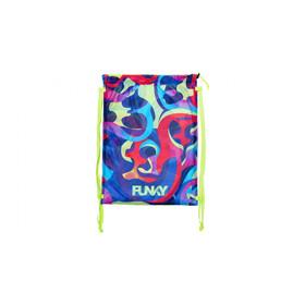 Funky Trunks Mesh Gear Bag, colorato